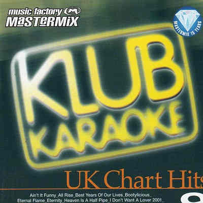 Music Factory Karaoke Disc MFKK009 - Front - CD+G song lists