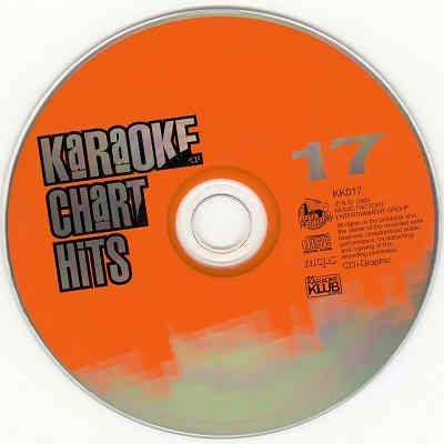 Music Factory Karaoke Disc MFKK017 - Label - discs - track listings