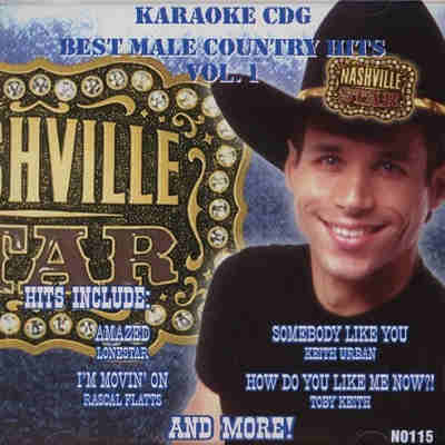 Nashville Star Karaoke N0115 - Front - download KJ song books