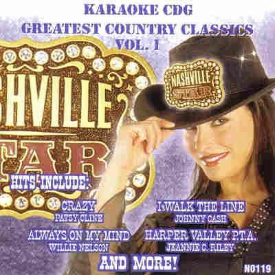 Nashville Star Karaoke N0119 - Front - CD+G