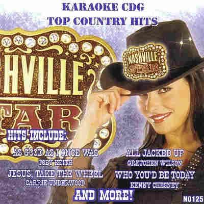 Nashville Star Karaoke N0125 - Front CDG