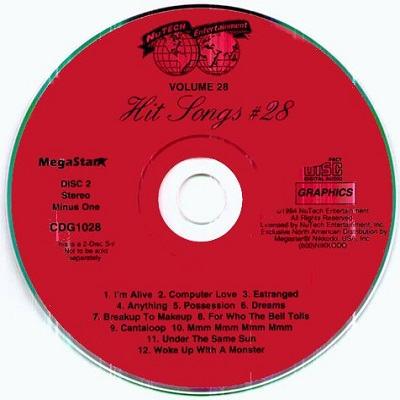 Nutech Karaoke NT028 - Label download song books