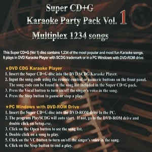 Nutech karaoke ntpss01 neo+g vol1 - cover