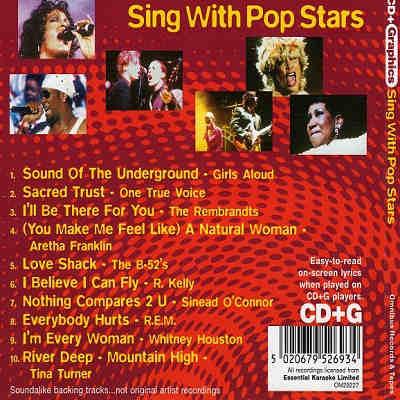 Omnibus Karaoke OM29227 - Back CDG