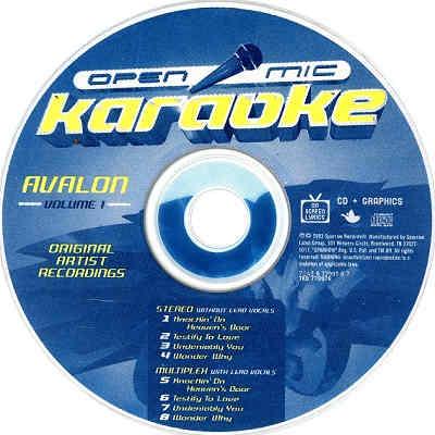 Open Mic Karaoke OPM-AV - CDG