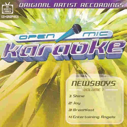 Open Mic Karaoke discs