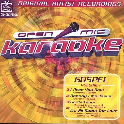Open Mic Karaoke discs - orange cover