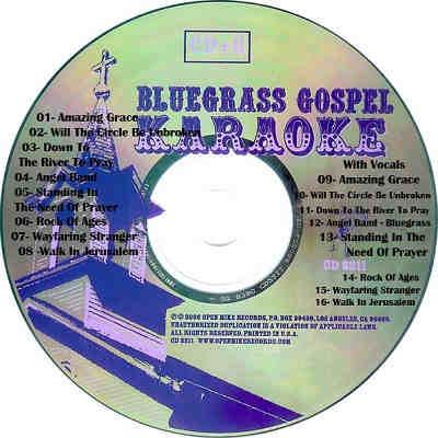 Open Mike Karaoke OPM2211 - Label - song book downloads
