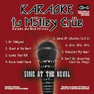 Open Mike Karaoke OPM2216 - Front - Motley Crue - song lists