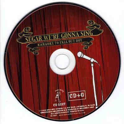 Open Mike Karaoke OPM2227 - Label CD+G