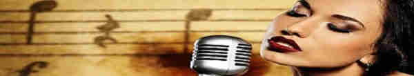 Open Mike Karaoke Series - woman singing into microphone