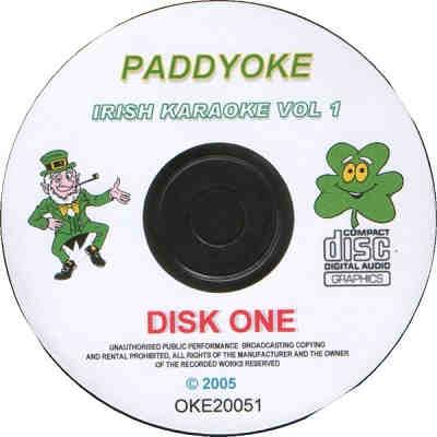 Passionhouse Karaoke OKE20051-1 - Label - paddyoke CDG
