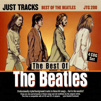 Pocket Songs Karaoke - Just Tracks JTG200 - Front - The Beatles Collection - list