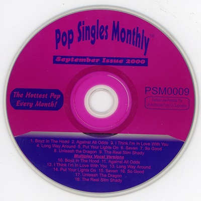 Pop Singles Monthly Karaoke PSM0009 - KJ song books