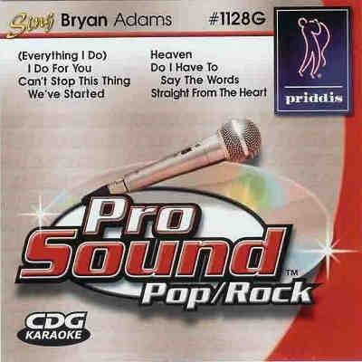 Priddis Karaoke PR1128 - Front - DJ &KJ song books