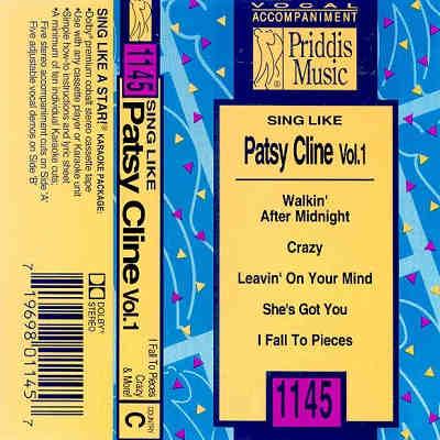 Priddis Karaoke PR1145-Cover - CD+G