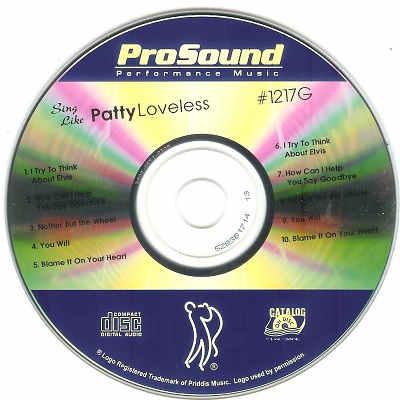 Priddis Karaoke PR1217 - Label DJ song lists