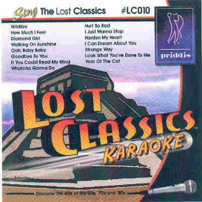 Priddis Lost Classics Karaoke LC10 - Front CDG
