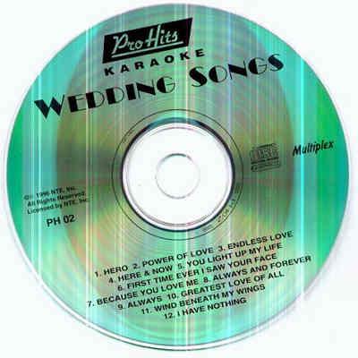 Pro Hits Karaoke PH02 - Label DJ & KJ song books