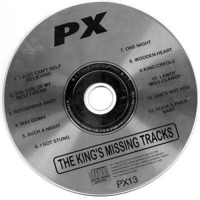 Protrax Karaoke PX013 - Label CDG KJ song lists