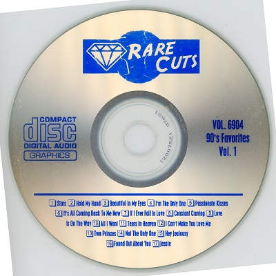 Rare Cuts Karaoke RC6904 CD+G Label