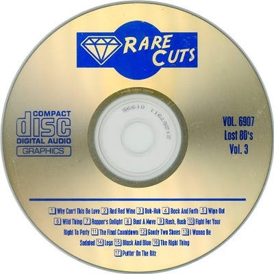 Rare Cuts Karaoke RC6907 - song lists