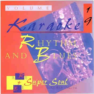 Rhythm and Blues Karaoke RB19 - Front - KJ song lists