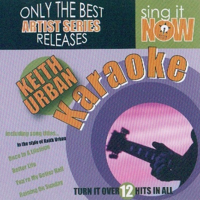Sing It Now Karaoke - SINSS003 - Front - SONG BOOKS