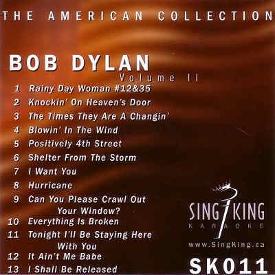 Sing King Karaoke SKK011 - Front CDG