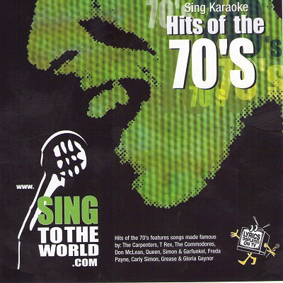 Sing To The World Karaoke STTW1003 - Front - DJ & KJ song books