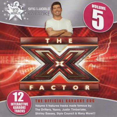Sing To The World Karaoke STTW1299 - Front - X Factor