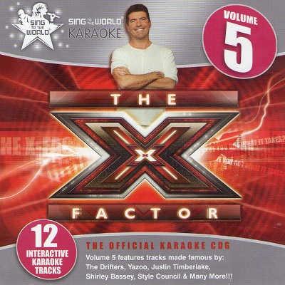 Sing To The World Karaoke STTW1299 - Front - X Factor