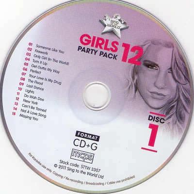 Sing To The World Karaoke STTW3307 CD+G