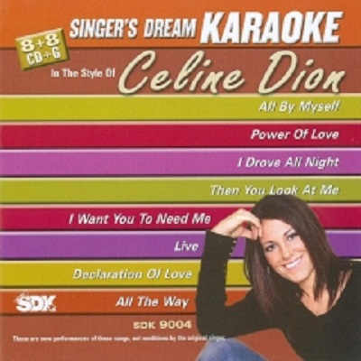 Singers Dream Karaoke SDK9004 - Front - KJ & DJ song books