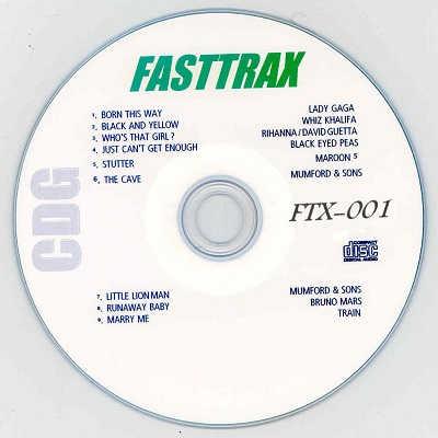Singers Solution Karaoke - Fasttrax FTX001 CDG