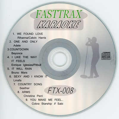 Singers Solution Karaoke - Fasttrax FTX008 CDG