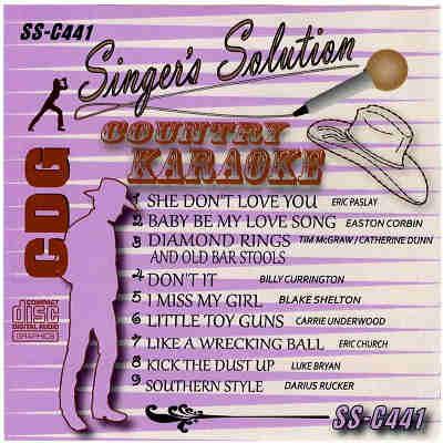 Singers Solution Karaoke SSC441 CDG Front