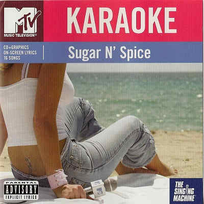 Singing Machine Karaoke SM7105N - Front song lists