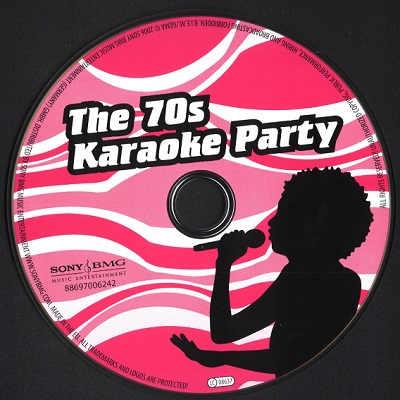 Sony-BMG Karaoke BMG6242 - Label - song book downloads