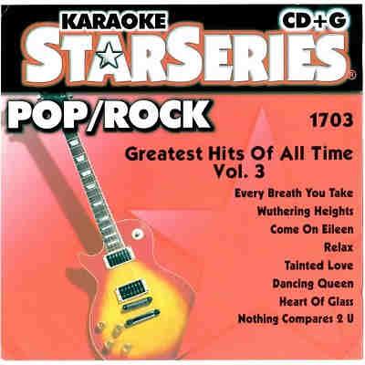 Sound Choice Karaoke SC1703 - Front - KJ & DJ song books and track lists