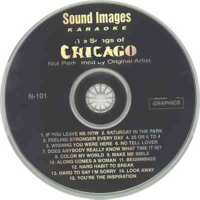 Sound Images Karaoke SI101 - Label - DJ & KJ song books and lists downloads