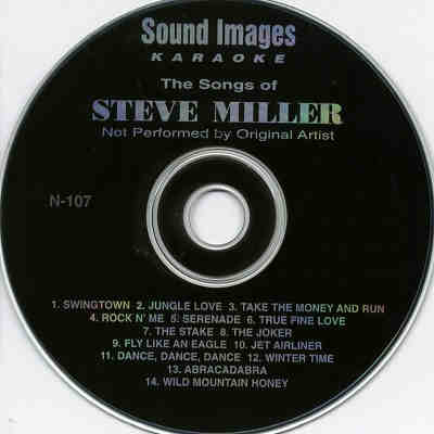 Sound Images Karaoke SI107 - Label CDG
