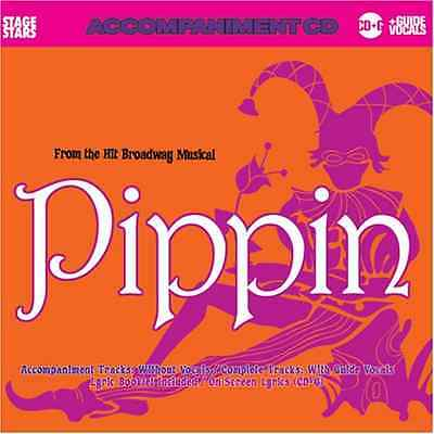 Stage Stars Karaoke Broadway Musical Pippin Professional Backing Tracks CDG