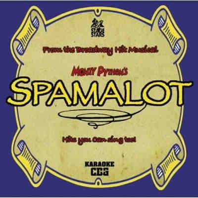 Stage Stars Karaoke STS6021 - Front - Monty Python's Spamalot - song books