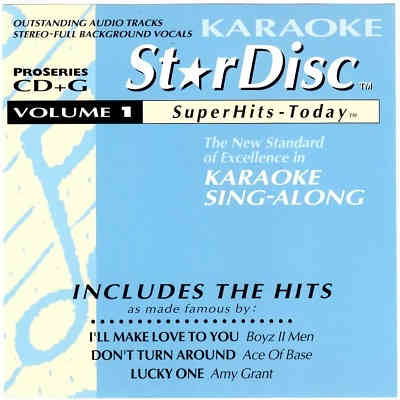 StarDisc Karaoke SD001 - Front Star Disc - DJ & KJ song lists