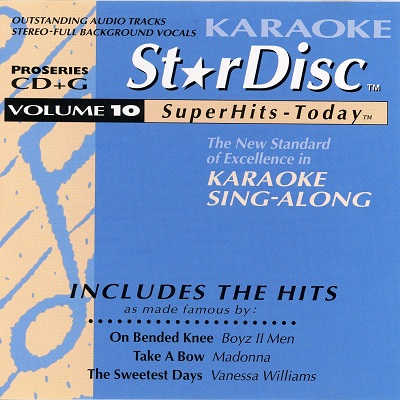 StarDisc Karaoke SD010 - Front Star Disc - DJ song books