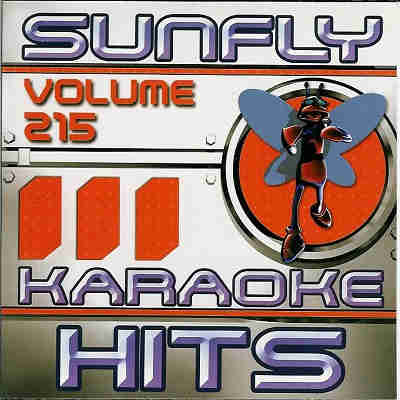 Sunfly Karaoke Disc SF215 - Front CDG