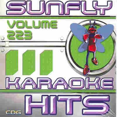 Sunfly Karaoke Disc SF223 - Front - CDG