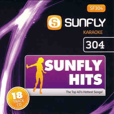 Sunfly Karaoke Disc SF304 - Front - KJ song lists