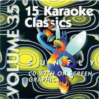 Sunfly Karaoke SF035 - Front - CDG